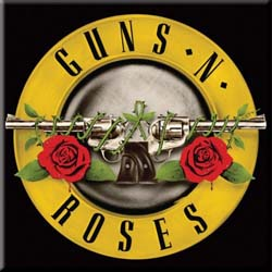 Guns N' Roses Fridge Magnet: Bullet