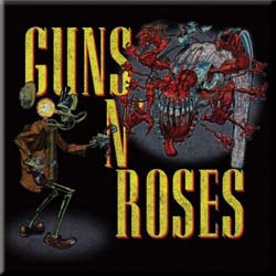 Guns N' Roses Fridge Magnet: Attack