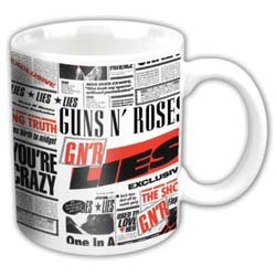 Guns N' Roses Boxed Standard Mug: Lies