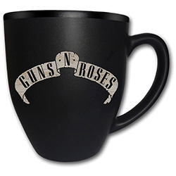 Guns N' Roses Boxed Matt Mug: Logo (Laser Etched)