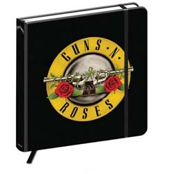 Guns N' Roses Notebook: Classic Logo (Hard Back)