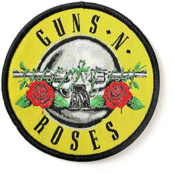 Guns N' Roses Standard Patch: Classic Circle Logo
