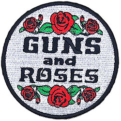 Guns N' Roses Standard Patch: Roses