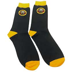 Guns N' Roses Unisex Ankle Socks: Circle Logo (UK Size 7 - 11)