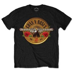 Guns N' Roses Men's Tee: 30th Photo