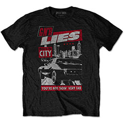 Guns N' Roses Unisex Tee: Move to the City