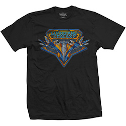 Marvel Comics Unisex Tee: Guardians of the Galaxy Vol. 2 Vintage Milano