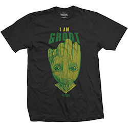 Marvel Comics Unisex Tee: Guardians of the Galaxy Vol. 2 I am Groot