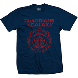 Marvel Comics Unisex Tee: Guardians of the Galaxy Vol. 2 Seal