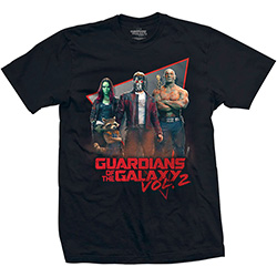 Marvel Comics Unisex Tee: Guardians of the Galaxy Vol. 2 Eighties