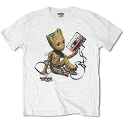 Marvel Comics Unisex Tee: Guardians of the Galaxy V. 2 Groot with Tape