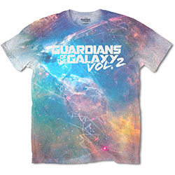 Marvel Comics Men's Tee: Guardians of the Galaxy Vol. 2 Space Sub (Sublimated)