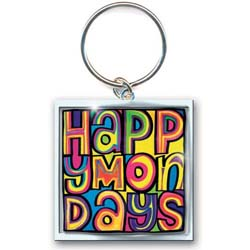 Happy Mondays Keychain: Dayglo Logo (Photo-print)