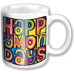 Happy Mondays Boxed Standard Mug: Dayglo Logo