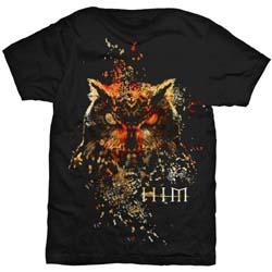 HIM Men's Tee: Owl Colour