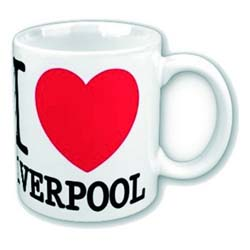 Magic Moments Boxed Standard Mug: I Love Liverpool