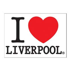 Magic Moments Postcard: I Love Liverpool (Standard)