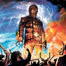 Iron Maiden Greetings Card: Wicker Man