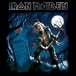 Iron Maiden Greetings Card: Benjamin Breeg