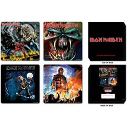 Iron Maiden Coaster Set: Mixed