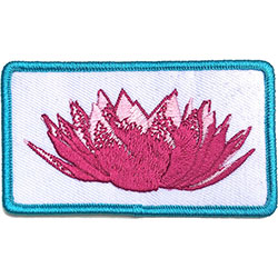 Imagine Dragons Standard Patch: Lotus Flower