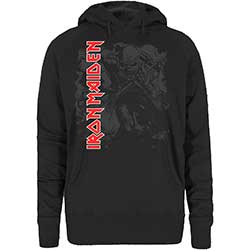 Iron Maiden Ladies Pullover Hoodie: Trooper