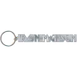 Iron Maiden Standard Keychain: Logo with no tails.