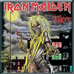 Iron Maiden Fridge Magnet: Killers