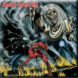 Iron Maiden Fridge Magnet: Numbers of the Beast
