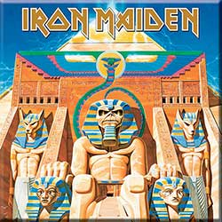 Iron Maiden Fridge Magnet: Powerslave