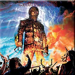 Iron Maiden Fridge Magnet: Wicker Man