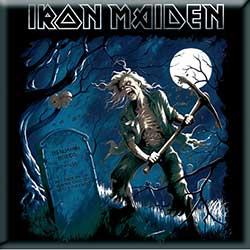 Iron Maiden Fridge Magnet: Benjamin Breeg