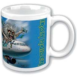 Iron Maiden Boxed Standard Mug: Flight 666