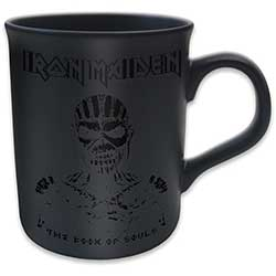 Iron Maiden Boxed Matt Mug: The Book of Souls (Black on Black Matt)