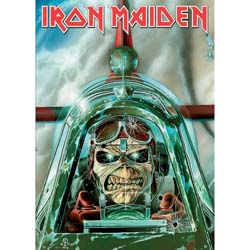 Iron Maiden Postcard: Aces High (Standard)