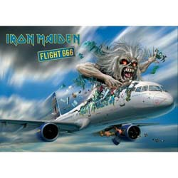 Iron Maiden Postcard: Flight 666 (Standard)