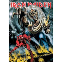 Iron Maiden Postcard: Number of the Beast (Standard)