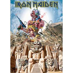 Iron Maiden Postcard: Somewhere back in time (Standard)