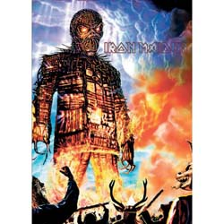 Iron Maiden Postcard: Wicker Man (Standard)