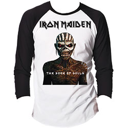Iron Maiden Men's Raglan Tee: The Book of Souls