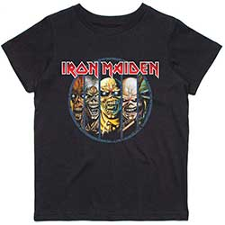 Iron Maiden Kids Tee: Evolution