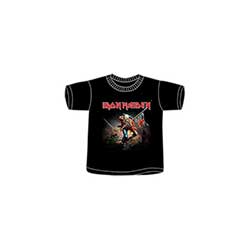 Iron Maiden Kids Tee: Trooper