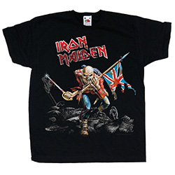 Iron Maiden Kid's Tee: Trooper (Youth's Fit)