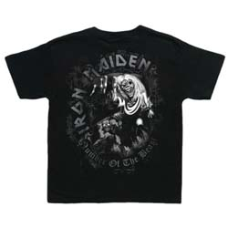 Iron Maiden Kid's Tee: Number of the Beast (Toddler's Fit)