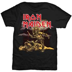 Iron Maiden Ladies Tee: Slasher with Skinny Fitting