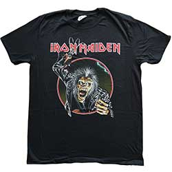 Iron Maiden Men's Tee: Eddie Hook