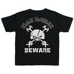 Iron Maiden Kid's Tee: Beware (Toddler's Fit)