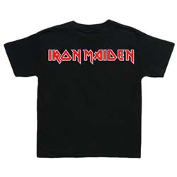 Iron Maiden Kid's Tee: Logo (Toddler's Fit)