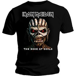Iron Maiden Men's Tee: The Book of Souls