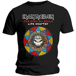 Iron Maiden Men's Tee: Book of Souls Live Chapter